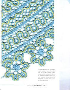 For instructions, click here:   http://ergahandmade.blogspot.gr/2015/06/crochet-stitches.html   Via:  https://fotki.yande...