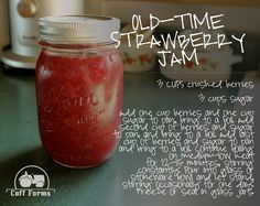 Old Time Strawberry Jam
