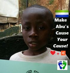 Meet FRIDAY'S CHILD, Ebola's orphan Abu, age 7. Help Abu raise awareness - Pin me - ❤ me + share me for Ebola's 12,000+ Generation.                SUPPORT ABU'S cause FIND his friends & CREATE your own Board #4EbolaOrphans !       Mix it up with pins of your own - Get creative #4ebolaorphans & we'll feature every Board on our website to show our appreciation!
