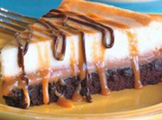 Brownie Carmel Cheesecake Recipe