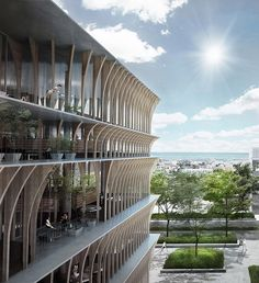 spatial practice designs competition proposal for library in varna