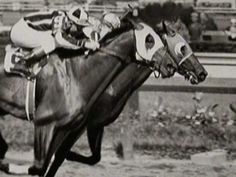 ▶ Seabiscuit vs. Ligaroti - 1938 Match Race - YouTube:  George Woolf in mid-stretch skirmish with the other Jockey, result stands.