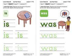 Use Past Tense: Lesson 7, Book 20 (Newitt Grammar Series)