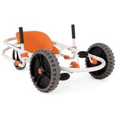 The Lever Steering Pedal Go Kart - Hammacher Schlemmer