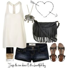 Sunny day outfit., created by carolynbby on Polyvore