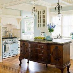 Perfect kitchen design.