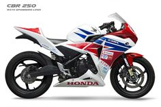 Race spec Honda CBR250R