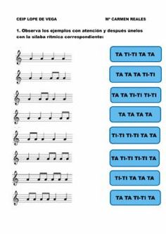 Elementary Music Lessons, Piano Lessons, Music Worksheets, Reading Music, Music School, Piano Teaching, Music Activities, Chant, Music For Kids