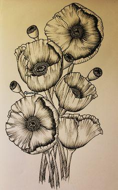 poppy tattoo | Tumblr