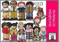 Melonheadz Illustrating Nerd kidlettes!!!