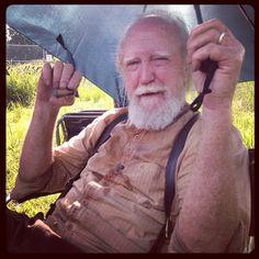 Scott Wilson as Hershel Greene; The Walking Dead, 2013 The Walking Dead 2, Walking Dead Season, Twd 7, The Walking Dead Merchandise, Scott Wilson, Cinema Tv, Dead To Me, Dead Inside, Stuff And Thangs