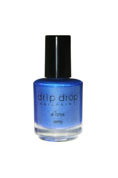 """""""a'hoye amy"""" is a blue holo, named after one of my Instagram pals, @Amy Hoye. Her favorite nail polish color is blue, and she loves her holos. Amy has been very supportive and encouraging since the beginning of my nailart journey. This polish is my big thank you!!!   Available in full si..."""