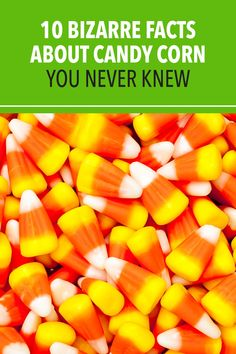Whether you love it or don't, you'll want to learn all about this iconic Halloween treat with these interesting facts about candy corn. #halloween #candy #candycorn Facts For Kids, Fun Facts, Halloween Candy, Happy Halloween, Balloon Games For Kids, 100 Calorie Snacks, Yellow Candy, Bizarre Facts, Confectioners Glaze