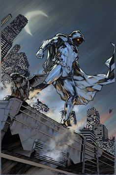 MOON KNIGHT COMIC RECOMMENDATIONS ~ So, to anyone who's interested in reading more about Moon Knight but have no idea what to read exactly, here are a few comic books I highly recommend: ~ Marvel Comic Character, Comic Book Characters, Comic Book Heroes, Marvel Characters, Comic Books Art, Comic Art, Dc Comics Superheroes, Marvel Comics Art, Old Comics