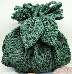 Crazy about arts - Handbags: KNITTING BAGS