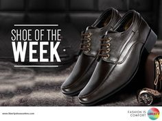 This formal shoe for men is apt for the office purposes, professional purposes and social jamborees. Priced at Rs.2199, this brown derby shoe is fabricated using genuine leather