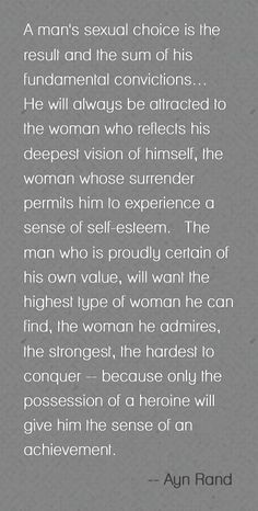 Heroin. Values. Ayn Rand