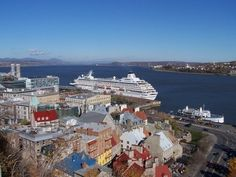 """Bon soir, Quebec!"" Canada, Quebec City, San Francisco Skyline, Travel Photos, Places Ive Been, Cruise, Ship, French, Travel Pictures"