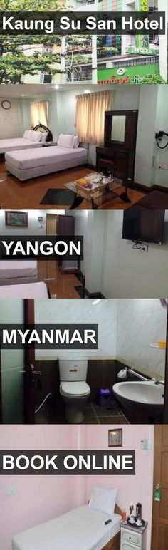 Kaung Su San Hotel in Yangon, Myanmar. For more information, photos, reviews and best prices please follow the link. #Myanmar #Yangon #travel #vacation #hotel
