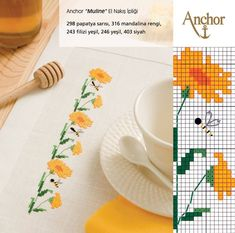Floral border pattern / Micro  
