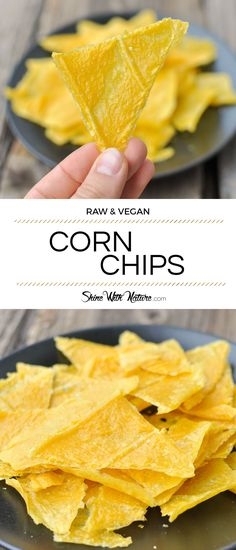 Raw Corn Chips | ShineWithNature.com