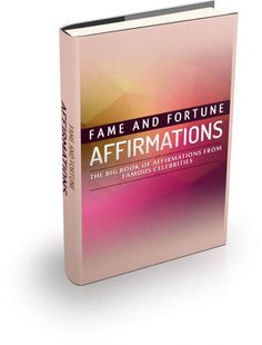 "Self Improvement ebook ""Fame And Fortune Affirmations - The Big Book of Affirmations from Famous Celebrities""    Over 80 memorable quotes from the likes of Marilyn Monroe, Benjamin Franklin, Francis Bacon, Virginia Woolf, Leonardo Da Vinci, Lord Byron, Michael J. Fox and many more.    Over 100 inspirational affirmations that will motivate you to great fame and fortune.    -----------------------------------------------------------------------------    Table Of Contents    Foreword    Chapter…"