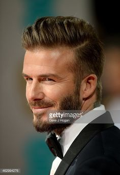 David Beckham attends the EE British Academy Film Awards at The Royal Opera House on February 8, 2015 in London, England.