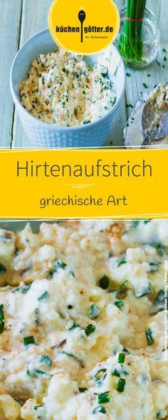 Griechischer Hirtenaufstrich Recipe for homemade Greek shepherd spread. Fits ideally with vegetable sticks or bread. Related posts: Greek shepherd's spread Peppers and feta spread Peppers and cashew spread Beetroot spread on red beetroot Vegetable Sticks, Health Breakfast, Sandwich Recipes, Finger Foods, Healthy Snacks, Vegetarian Recipes, Sandwiches, Brunch, Clean Eating