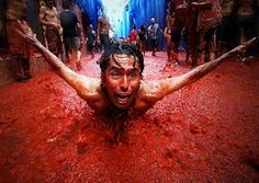 Crazy Tomato Festival in Spain...wish. so pissed i'm missing it by 7days