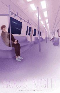 Train to pluto Gif Lindos, Animated Love Images, Anime Gifs, Anime Art, Good Night Gif, Beautiful Gif, Aesthetic Gif, Anime Scenery, Boy Art