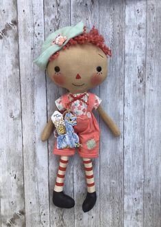 Raggedy Ann And Andy, Favorite Things, Teddy Bear, Dolls, Animals, Baby Dolls, Home Decoration, Xmas, Manualidades