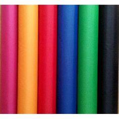 Plain colours Waterproof Fabric, Art Supplies, Colours