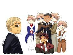 Aph America and Obama by r3troxlove.deviantart.com on @DeviantArt