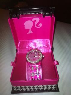 Pink Barbie watch<3