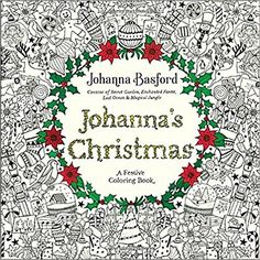 Amazon Johannas Christmas A Festive Coloring Book For Adults 9780143129301