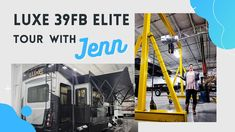 Take a tour with Jenn one of our knowledgable Factory Reps, of our Luxe 39FB Elite Fifth Wheel. Fifth Wheel, Tours
