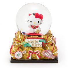 【楽天市場】ハローキティ 和風スノーグローブ:サンリオオンラインショップ Hello Kitty Snow Globe