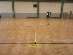 Il nuovo #pavimento sportivo DR dell'impianto di Mese è stato installato dai tecnici di #Montebelluna in soli 4 giorni