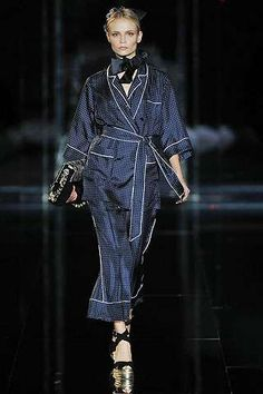 Couture Pajamas in Public - Dolce & Gabbana Women's Pantsuits Inspired by Men's PJs (GALLERY)