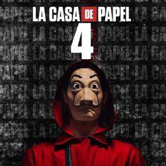 La Casa De Papel σεζον 4: Ο τέταρτος κύκλος έρχεται σε λίγες ώρες και φέρνει το χάος!  #lacasadepapel #menoumespiti #netflix #ιδεεςγιακαραντινα #μενουμεσπιτι #τεταρτησεζον #τεταρτοseason HOT Netflix, Movies, Movie Posters, Film Poster, Films, Popcorn Posters, Film Posters, Movie Quotes, Movie