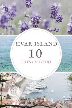 Top 10 things to do in Hvar Island, Croatia - from travel blog: http://Epepa.eu