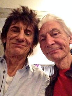 Selfie with #CharliestoocoolforTwitter @RollingStones #Ohio #Backstage