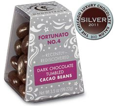 Moonstruck Fortunato Dark Chocolate Tumbled Cacao Beans...must try!