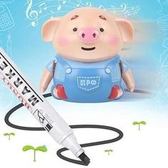 Educational Creative Pen Inductive Toy Pig Christmas Kids Toy Cute Pig MY in Toys & Hobbies, Educational, Other Educational Toys