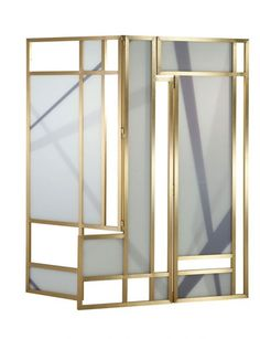 Paris Paname screen by Roche Bobois Mirror Room Divider, Room Divider Screen, Room Dividers, Furniture Showroom, Modern Furniture, Furniture Design, Bruno Moinard, Interior Exterior, Interior Design