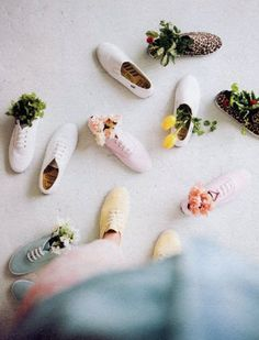 flowers + shoes