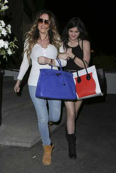 Khloe and Kylie
