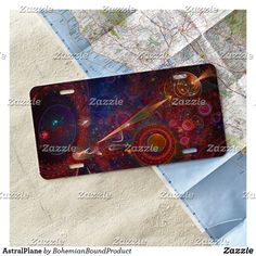 AstralPlane License Plate