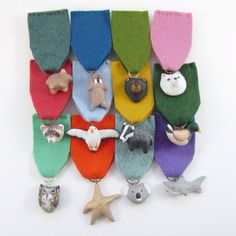 Animal medals from etsy.com