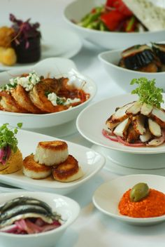 Various Meze to share